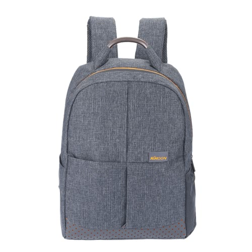 KKmoon Zipper Homens de Negócios Mochila Casual Shoulder Bag computador portátil Notebook Bolsa Escola Viagem Satchel Caminhadas