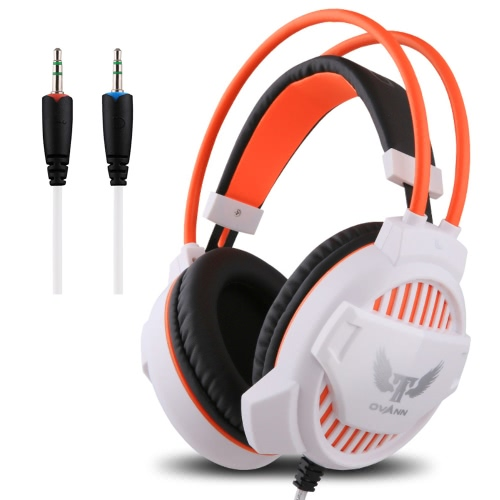 Ovann G1 Professional Esport Gaming Stereo Bass Headset Headphone Earphone Over Ear 3.5mm Wired with Microphone for PC Computer Laptop