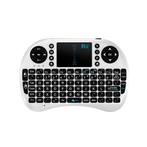 2.4GHz Wireless Rii Mini i8 Keyboard