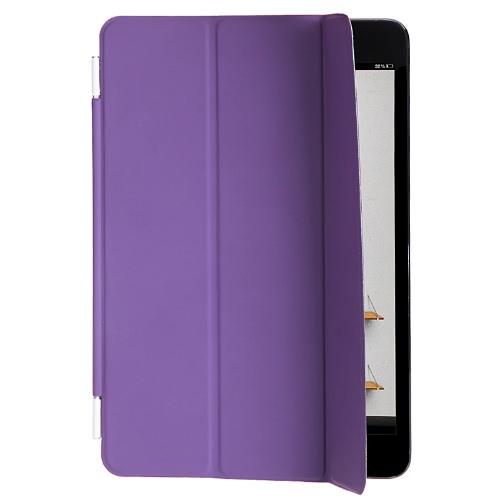 Smart Case Cover Stand for Apple iPad Mini Sleep/ Wake Purple