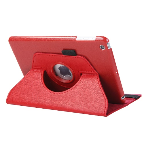 360 Degrees Rotating Protective Leather Case Skin Cover