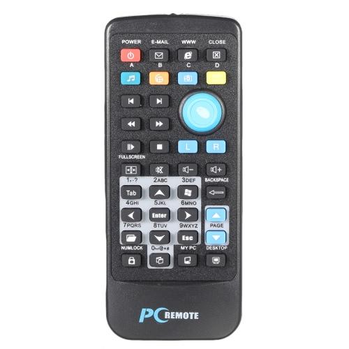 Controlador de TV a com USB 2.0 Mini receptor de rede multifuncional 2.4G sem fio PC computador controle remoto Media