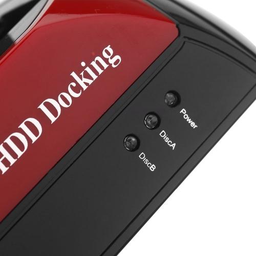 Tudo em 1 HDD encaixe duplo duplo 2.5