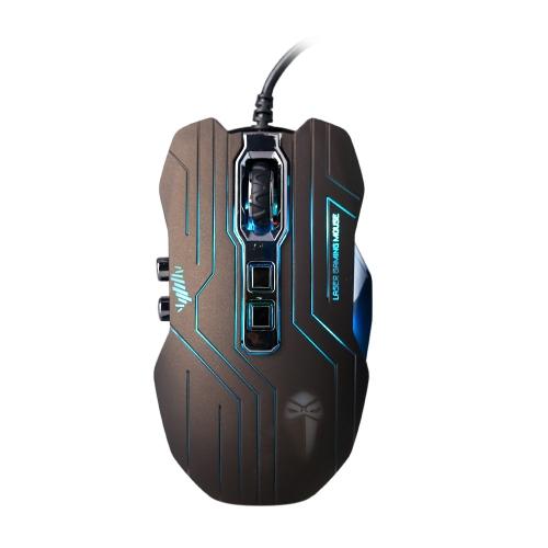 3200 DPI óptico 9d botões vibração com fio Gaming Mouse mouses LED programável para Pro Gamer