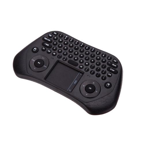 Medy GP800 teclado QWERTY portátil com 79 teclas sem fio com receptor USB