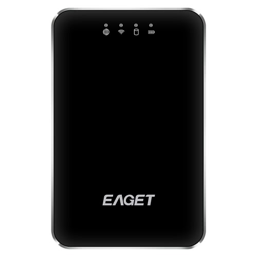 EAGETA A86 1TB USB3.0 High-Speed Wireless WIFI Portable External Hard Disk Drive Electronics Storage Device 3G Router Mobile Power Bank for Laptop & Desktop