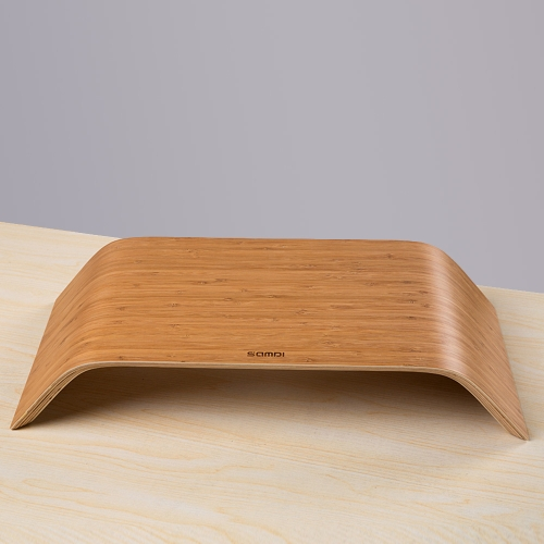 Universal Desktop Computer Monitor Heighten Bamboo Stand Dock Holder Display Bracket for iMac PC Notebook Laptop