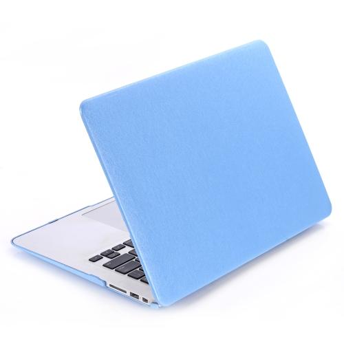 Difícil processo de seda padrão couro tampa Snap-on Shell protetor pele Ultra Slim Light Weight para Apple Macbook Air 11 polegadas 11,6