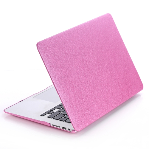 Hard Case Silk Pattern Leather Cover Snap-on Shell Protective Skin Ultra Slim Light Weight for Apple Macbook Air 11 inch 11.6