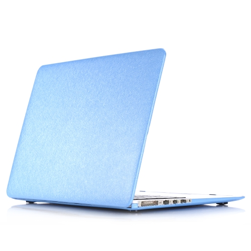 Hard Case Silk Pattern Leather Cover Snap-on Shell Protective Skin Ultra Slim Light Weight for Apple Macbook Pro 15-inch 15.4