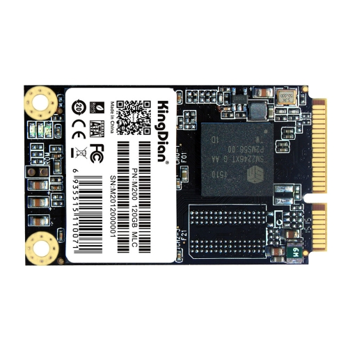 KingDian MSATA M200 120G MLC MSATA Digital Flash SSD Solid State Drive Storage Devices