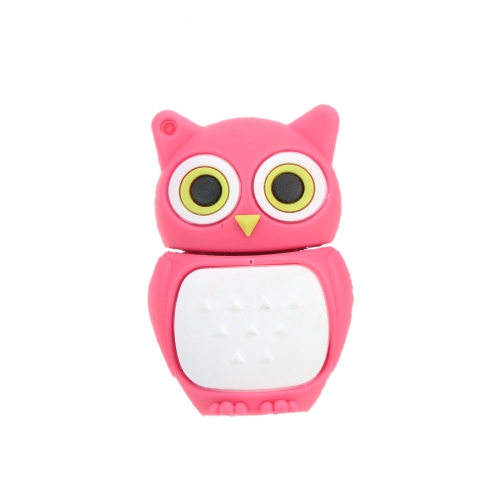 Cute Animal Cartoon Owl Model USB 2.0 Flash Drive High Speed Storage U Disk Fashionable Memory Stick Creative Thumb Pen Drive with Keyhole