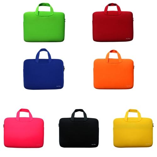 Мягкие рукава мешок случае портфель Handlebag чехол для 14-дюймовый 14 «Ultrabook ноутбук ноутбук портативный фото