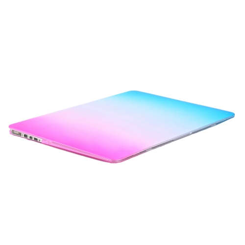 Ultra Thin Light Weight Rainbow Contract Color Laptop Hard Case Shell Cover for Apple Macbook Retina 13 13.3in