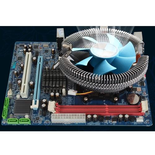 BINGBAO Middle Size Ultra Silent 7 Blades Computer PC Fan Cooler Heatsink Radiator for AMD Intel 775 1155 CPU