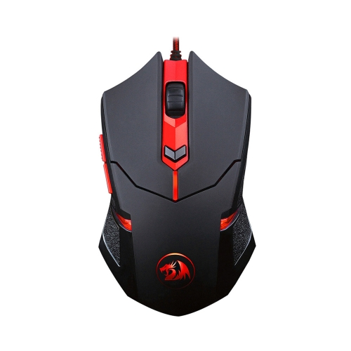 REDRAGON Max 2000DPI Adjustable 6D Optical USB Wired Gaming Mouse with 6 Buttons Weight Tuning Set for Laptop Desktop
