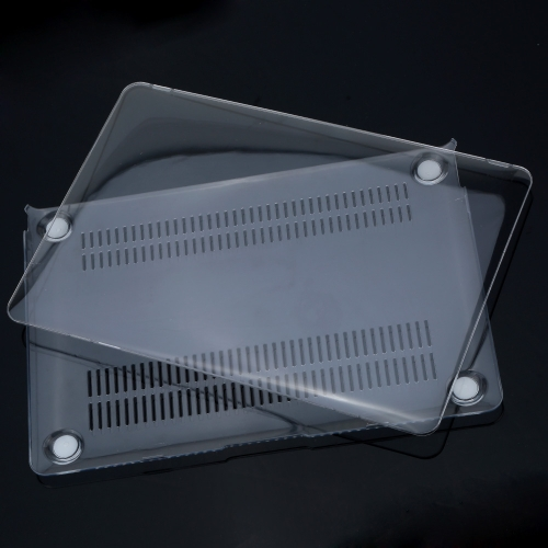 Ultra fina pouco peso Crystal Clear escudo protetor capa de Shell caso difícil para a Apple para MacBook 12