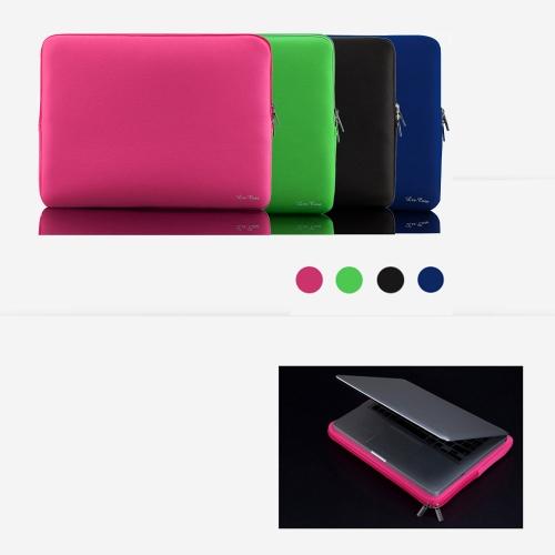 """Zipper Soft Sleeve Bag Case for MacBook Air Ultrabook Laptop Notebook 11-inch 11"""" 11.6""""  Portable C2394B"""