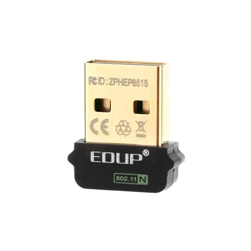 EDUP 2.4 GHz 150 Mb / s 150 M Bezprzewodowa karta sieciowa Mini Nano USB Karta sieciowa IEEE 802.11b / g / n