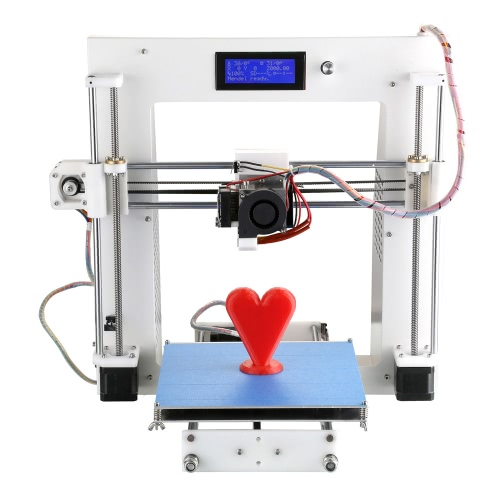 Aurora A3 RepRap Prusa i3 Desktop 3D Printer Machine DIY Kit Suit Sheetmetal Frame Cura Software Injection Molded with LCD Screen ON/OFF Switch Off-line Printing Self-assembly High Accuracy for Artistic Design Education Industry