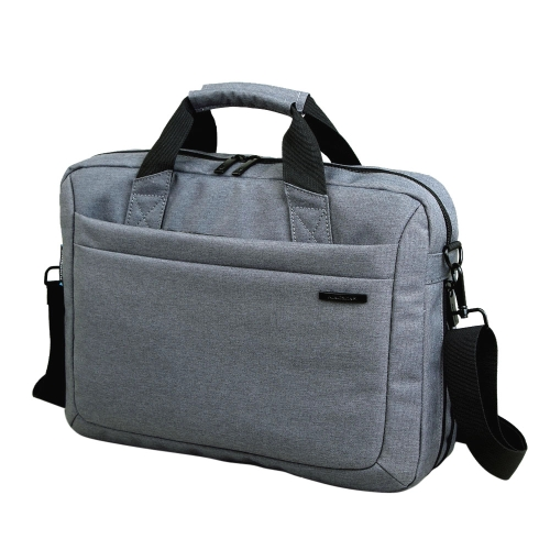 Kingsons Zipper Sleeve Carrying Handle Bag Shoulder Messenger Briefcase Computer Bag 14.1