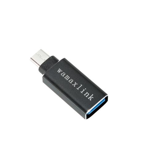 """Wamaxlink USB 3.1 Typ C do USB A Adapter adaptera żeńskiego OTG dla MacBooka 12 """"Google Chromebook Pixel"""