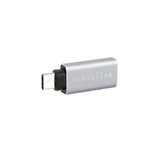 wamaxlink USB 3.1 Type C to USB A Female Adapter Converter OTG Function for Macbook 12 Google Chrome