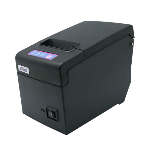 Hoin High-speed 58mm POS Dot Receipt Paper Barcode Thermal Printer USB+WiFi for Supermarket Store Bank Restaurant Bar