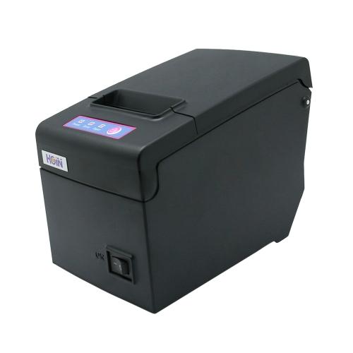 Hoin High-speed 58mm POS Dot Receipt Paper Barcode Thermal Printer USB+WiFi for Supermarket Store Bank Restaurant Bar