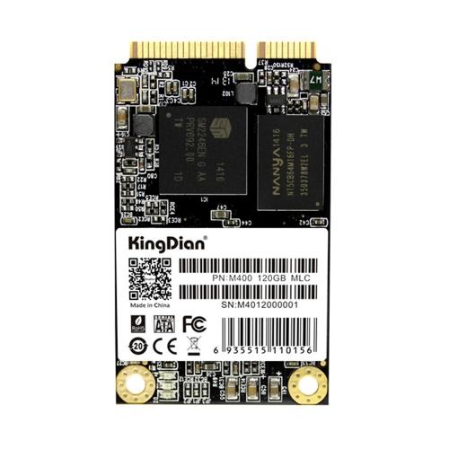 KingDian MSATA M400 120G MLC Digital Flash SSD Solid State Drive Storage Devices
