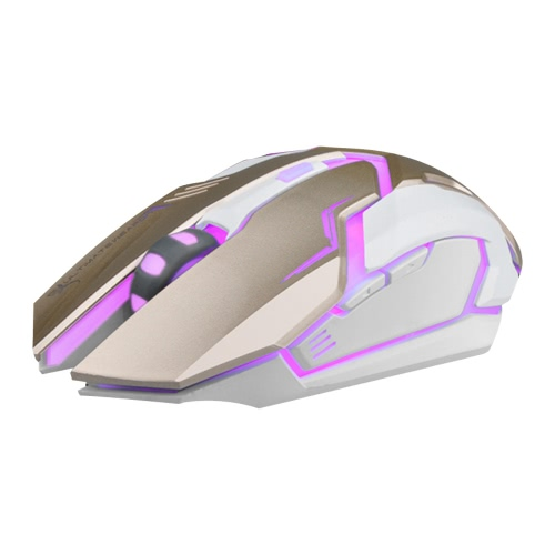 B-STORM M580 6D USB Wired Gaming Mouse/Mice Optical with Backlit 2400 DPI Adjustable for PC Laptop Desktop