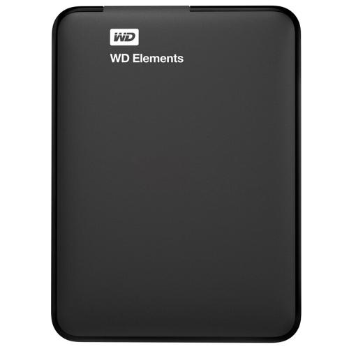 """Western Digital WD Elements 500G USB 3.0 Disco rígido externo portátil 2.5 """"WDBUZG0010BBK"""