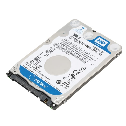 Western Digital WD Blue 500G 7mm Laptop HDD Internal Notebook Hard Disk Drive