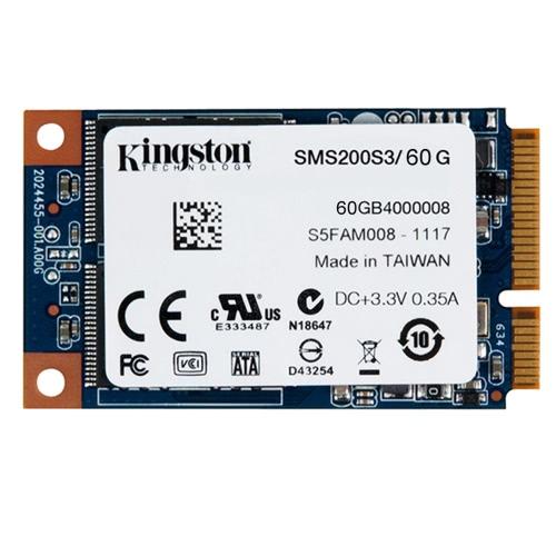 Kingston 60G Digital MS200 SSDNow Internal SSD mSATA(6Gbps) Solid State Drive MLC for Notebooks Laptop Ultrabooks SMS200S3/60G