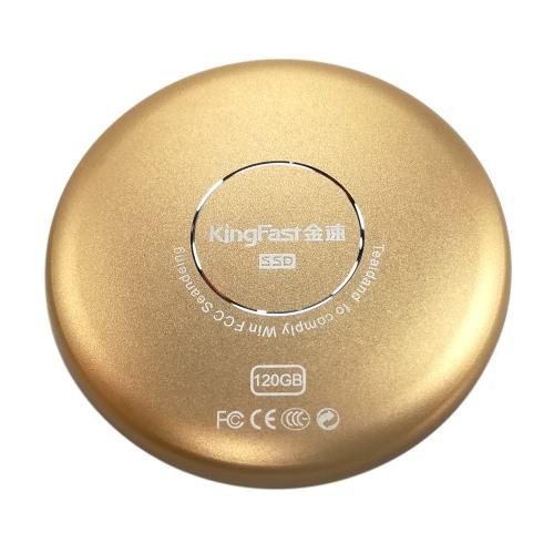 كينغفاست P600 120GB المحمولة سد سرعة فائقة أوسب 3.0 موبايل الخارجية محرك الحالة الصلبة