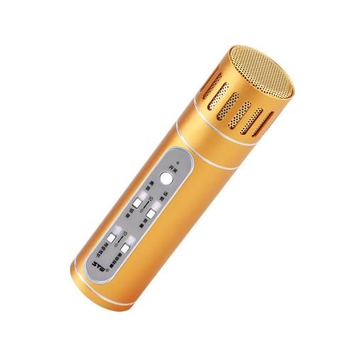 Саншайн-tipway STW конденсаторный микрофон Микрофон караоке плеер Запись Omni КТВ Пою для ОС IOS Android ПК Компьютер