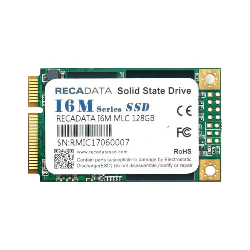 RECADATA 64GB 50mm Solid State Drive SSD mSATA III MLC Flash para Laptop Notebook Desktop PC