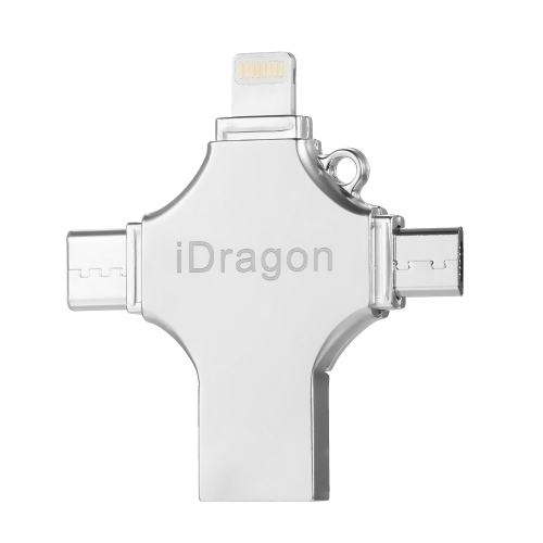 USB2.0 OTG 4-In-1 Type-C Thumb Drive Flash Drive Memory Stick para Android / iPhone / PC