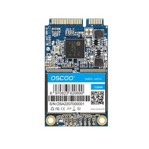OSCOO mSATA 6 Gb / s Wewnętrzny dysk półprzewodnikowy Mini dysk mSATA SSD do komputerów przenośnych
