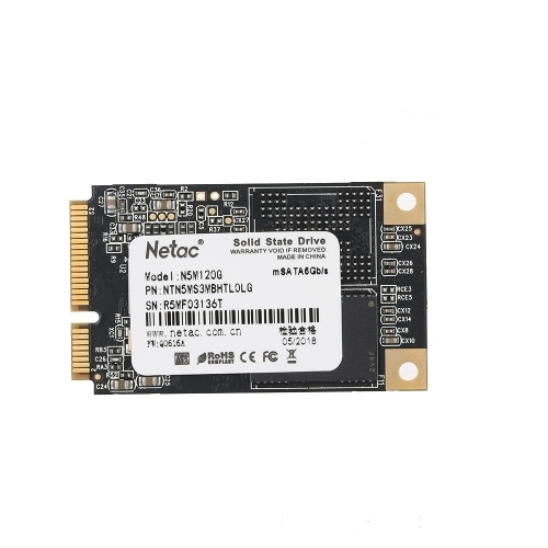Netac N5M Solid State Drive SSD Hard Disk Drive HDD SATA 3.0 High Speed 2.5 Inch 4mm Thinness SSD