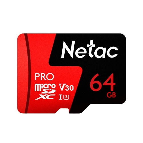 $10.28 OFF Netac 64GB Pro Micro SDXC TF Memory Card,free shipping $26.00(Code:MC5902)