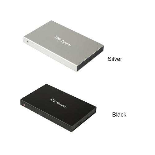 Portable External Hard Drive USB 3.0 120G.160G.250G.320G.500G HDD External HD Hard Disk for PC Silvery&120G
