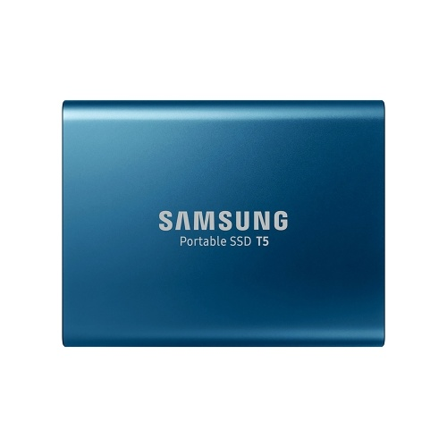 SAMSUNG 250GB Type-c USB3.1 Portable SSD T5 Max 540MB/s Transfer Speed (Blue)