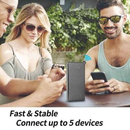 GlocalMe U2S 4G LTE Беспроводной терминал для передачи данных Глобальный портативный Wi-Fi 4G Роуминг Бесплатный Hotspot SIM-карта, охватывающая более 100 стран Шампанское золото фото