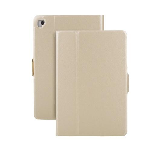 Custodia protettiva con copertura a vibrazione in pelle PU girevole a 360 gradi per iPad Mini 1/2/3/4/5 Custodia per tablet Supporto per supporto Oro