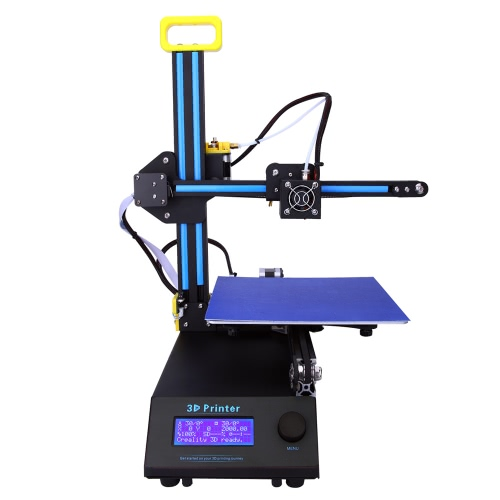 Creality 3D Desktop 3D Printer Machine DIY Kit FDM Injection Molded with Engraving Head Function LCD Screen Off-line Printing Self-assembly High Accuracy Portable for Artistic Design Education Industry CR-8