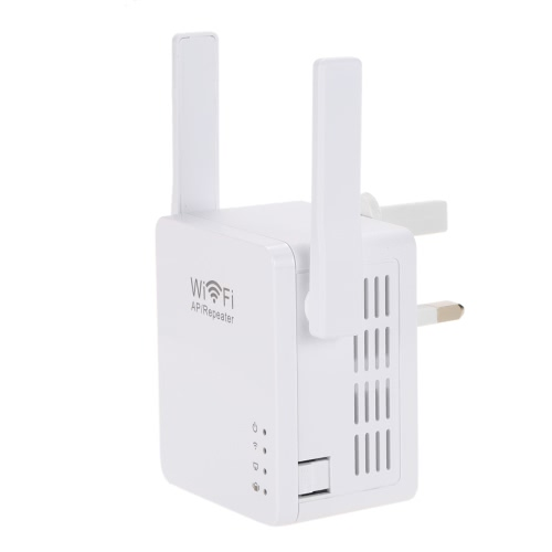 300Mbps WiFi Wireless Network Repeater Repetidor AP Client Wireless-N Range Signal Extender Dual External Antenna Full Coverage 802.11 b/g/n