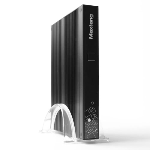DT Mini PC Desktop Computer VX Intel Core i5-5200U Dual Core CPU 2.2GHz with 4G DDR3L RAM & 64G SSD & PCI-E WiFi Card 2*LAN Antennas USB 3.0 HD HD 4K 19V 65W Fanless