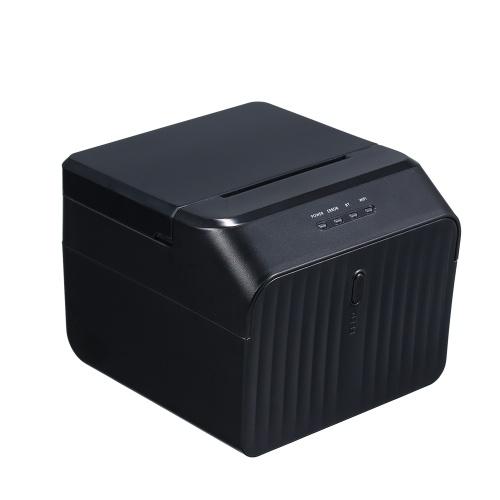 Stampante BT Stampanti USB di alta qualità per ricevute termiche Codice QR Codice a barre Etichetta adesiva Stampante 58mm Spina UK