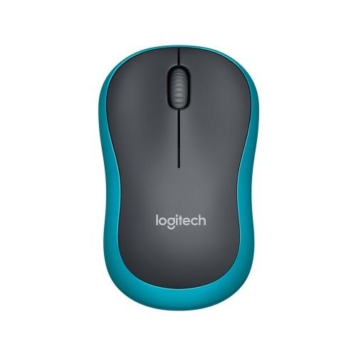 Logitech M186 2.4G Wireless Mouse Ergonomic Symmetrical Office Mice with 10m Wireless Transmission Distance for PC Laptop